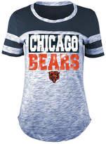 5th & Ocean Women's Chicago Bears Space Dye Foil T-Shirt