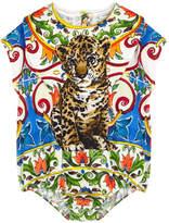 Dolce & Gabbana Graphic onesies and matching bib - Mondello