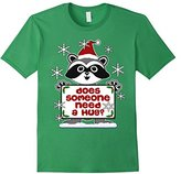 Men's Does Someone Need a Hug Cute Ugly Christmas Sweater Pattern 2XL