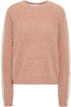 Majestic Filatures Two-tone Cashmere Sweater