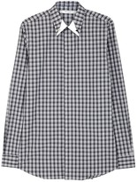 Givenchy Grey Checked Cotton Shirt