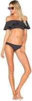 Lisa Marie Fernandez Mira Flounce Bikini Set