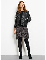 Hush Onyx Leather Jacket, Black