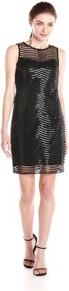 Marina Women's Sleeveless Netting Dress
