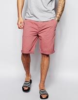 Asos Chino Shorts In Longer Length