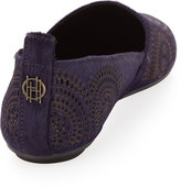 House Of Harlow Kye Circle-Laser Loafer, Purple Haze