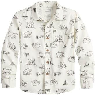 Sonoma Goods For Life Boys 4-12 Button Down Shirt
