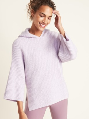 Old Navy Shaker-Stitch Pullover Hoodie for Women
