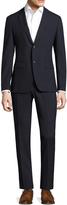 John Varvatos Men's Austin Notch Lapel Striped Suit
