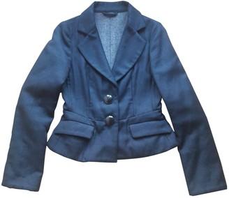 Cerruti Black Wool Jackets
