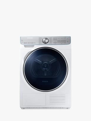 Samsung DV90N8289AW/EU Freestanding Heat Pump Tumble Dryer, 9kg Load, A+++ Energy Rating, White