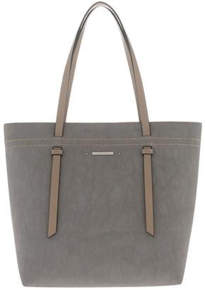 Basque Cathy Double Handle Grey Tote Bag