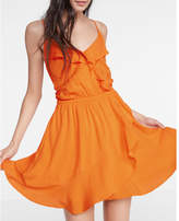 Express Ruffle Surplice Dress