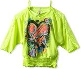 Beautees Girls 7-16 Heart Love Top