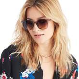 Sole Society Alameda Classic Oversize Sunglasses w/ Metal Leg Detail