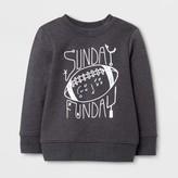 Cat & Jack Toddler Boys' Sweatshirts Cat & Jack - Charcoal Gray