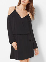 Michael Kors Off-The-Shoulder Matte-Jersey Dress