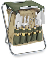 Gardener Chair and Tools Set