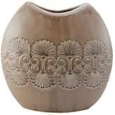Element Large Round Ceramic Crackle Vase