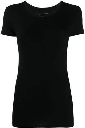 Majestic Filatures fitted crew-neck T-shirt