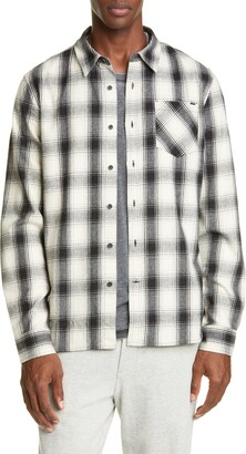 Ovadia & Sons Max Plaid Button-Up Twill Shirt