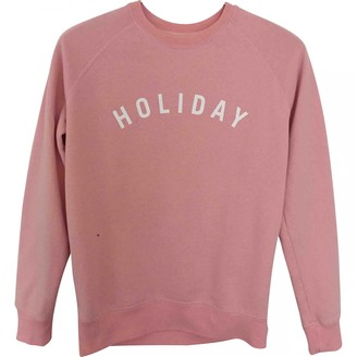 Holiday Pink Cotton Knitwear