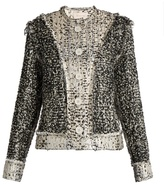 Christopher Kane Reversible tweed jacket