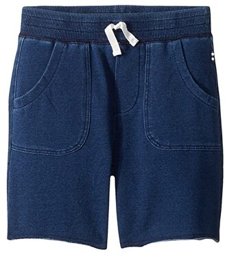 Splendid Littles Baby French Terry Indigo Shorts (Toddler/Little Kids/Big Kids) (Medium Stone) Boy's Shorts