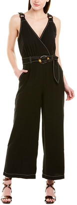 Moon River Belted Jumpsuit