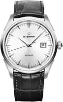Eterna Men's 1948 Legacy 41.5mm Black Leather Band Steel Case Automatic Analog Watch 2951-41-10-1322