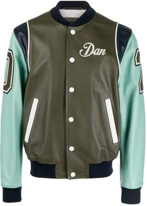 DSQUARED2 Dan colour block varsity jacket