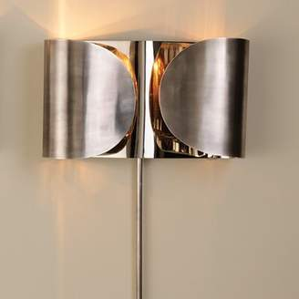 Global Views Folded 1-Light Flush Mount Finish: Antique Silver / Nickel, Installation: Hardwired
