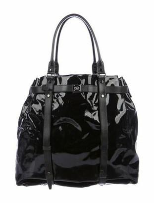 Lanvin Patent Leather Tote Black