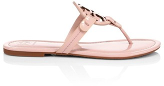 Tory Burch Miller Patent Leather Thong Sandals