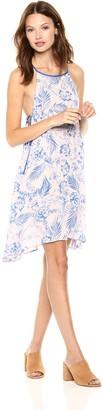 En Creme Women's Tropical Vacation Light Mini Dress