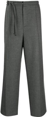 Maison Margiela Tie-Waist Wide-Leg Trousers