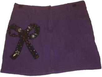 Moschino Love Purple Skirt for Women