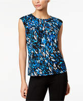 Kasper Printed Top
