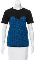 Derek Lam Colorblock Knit Top