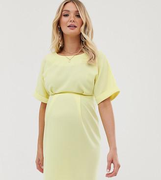 Asos DESIGN Maternity wiggle mini dress