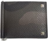 Valentino Garavani Camouflage Textured Leather Wallet