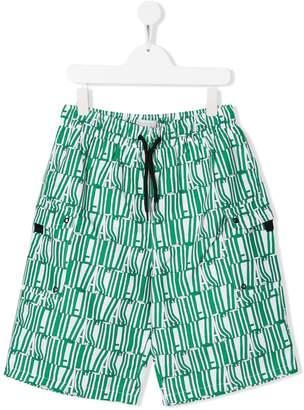 Stella McCartney logo print swim shorts