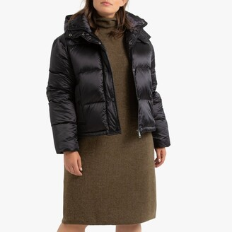 Waterproof Hooded Padded Puffer Jacket with Pockets