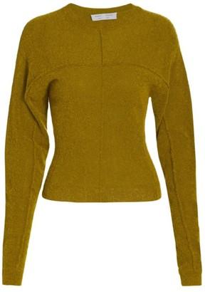 Proenza Schouler White Label Fine Boucle Crewneck Sweater