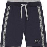 BOSS Logo trim cotton shorts 6-36 months