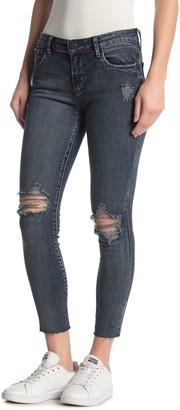 STS Blue Emma Cut Off Hem Crop Skinny Jeans