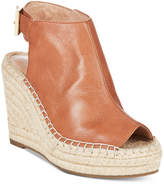 Kenneth Cole New York Women's Olivia Espadrille Peep-Toe Wedges Women's Shoes