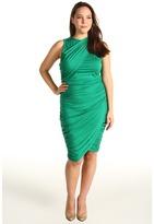 Rachel Pally Plus - Plus Size Kennedy Dress (Emerald) - Apparel