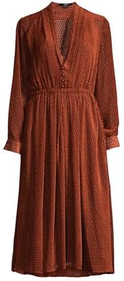 Seventy Dot Midi Dress
