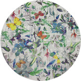 N. Nicolette Mayer Garden Fantasia Round Pebble Placemats, Set of 4